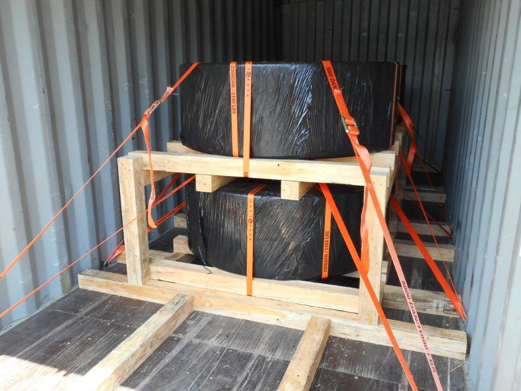 Lashing-inside-container