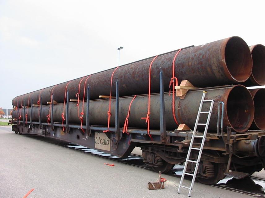 Dây đai vải cố định ống thép