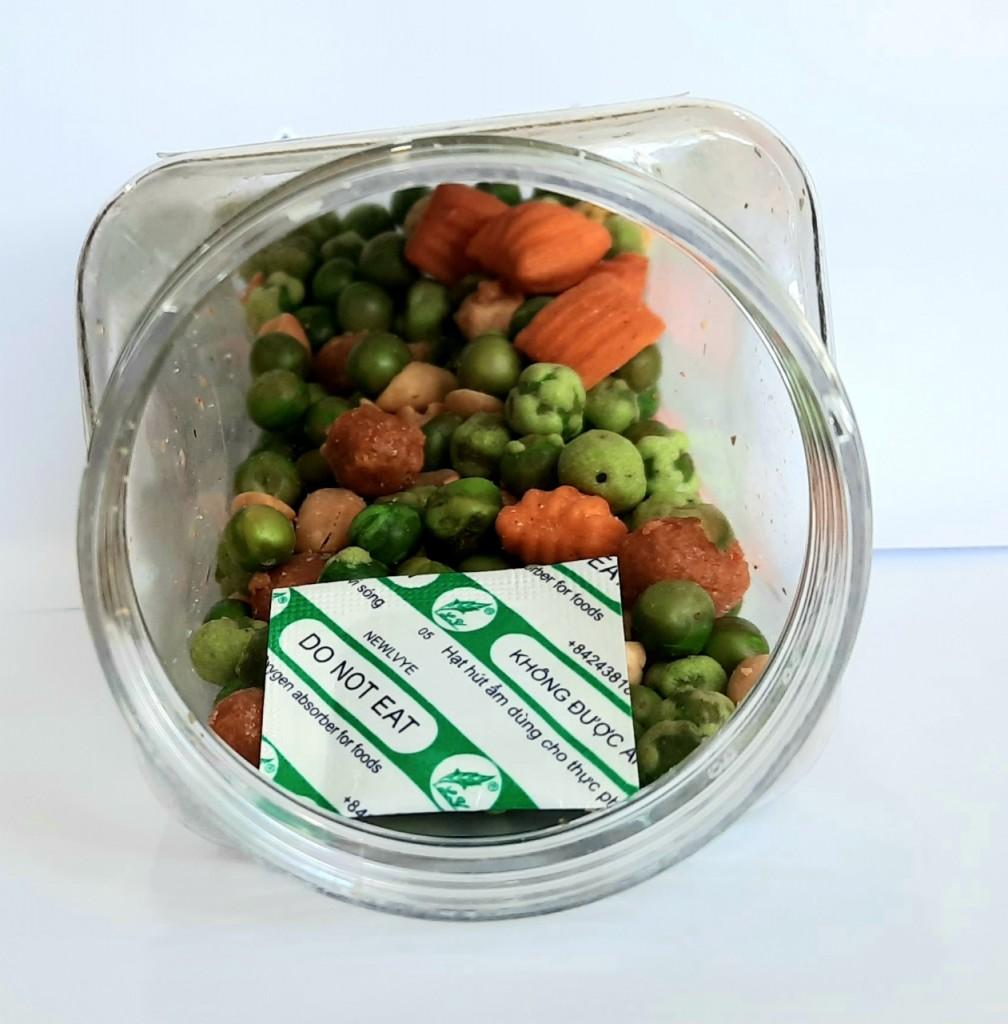 Gói hút oxy bảo quản các loại hạt